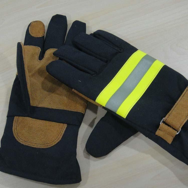 66c576c0d873 Fireman Gloves Heat Resistant Security Gloves Fire Resistant Gloves ...