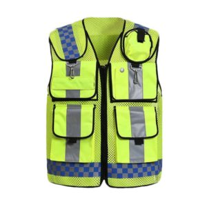 Safetymaster brand Multi Pocket safety vests wholesale