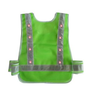 Safetymaster brand flashing safety vests wholesale