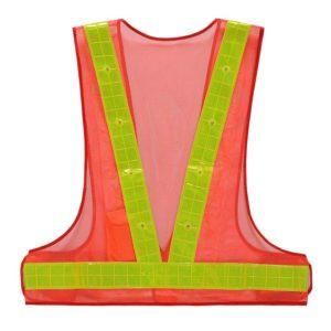 Safetymaster brand flashing safety vests
