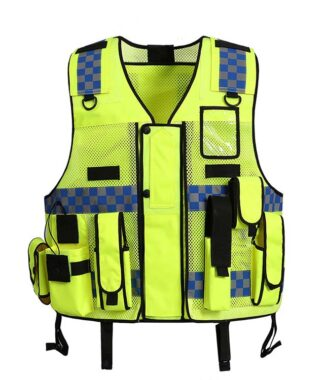 Safetymaster brand Multi Pocket safety vests wholesale