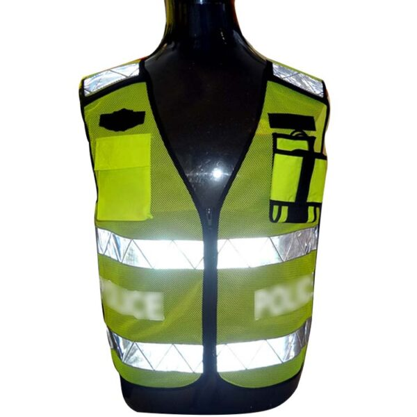 Safetymaster brand fluorescent safety vests
