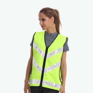 Safetymaster brand flashing safety vests
